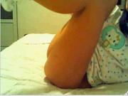 Утренняя мастурбация молодой девушки