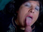 Кончил жене на лицо и в рот