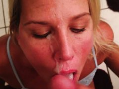 Жена обожает вкус спермы