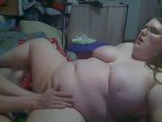 Домашний фистинг с толстой женой