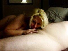 Медленный секс с толстой зрелой женой в номере дешевого отеля