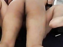 Секс в разных позах и окончание внутри