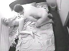 В потолке комнаты публичного дома установили скрытую камеру