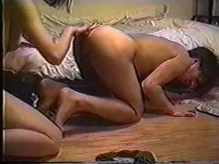 Японское домашнее ретро порно