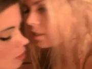 Лесбиянки любительницы в сауне