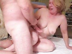 Немецкая женатая пара в возрасте