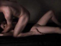 Очень страстный домашний секс молодых людей