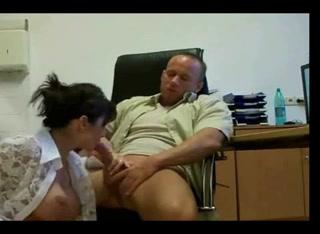 Офисный анальный секс