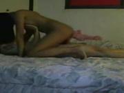 Азиатские студенты в домашнем сексе