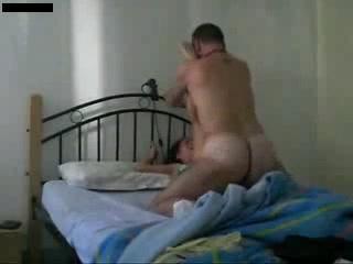 Что может быть лучше утреннего секса в кровати с женой
