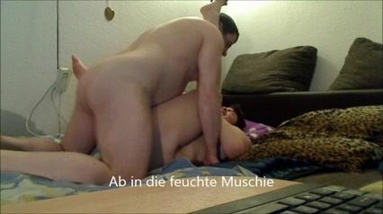 Толстячок занымается сексом