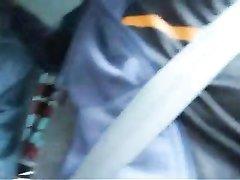 Немецкая блондинка в лесу делает для видео любительский минет таксисту