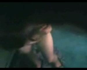 Подглядывание в домашнем видео за красивой дамочкой с большими сиськами
