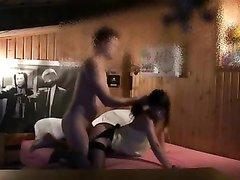 Жёсткий анальный секс с азиатской любовницей снимает скрытая камера в спальне