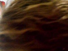 Скромная любительница минета в видео от первого лица дрочит и сосёт член