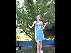 Шикарный минет от блондинки в домашнем видео от первого лица сделан для окончания в рот