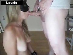 Горячая блондинка любит жёсткий секс со связыванием и интимными игрушками