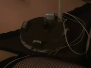 В русском видео зрелая блондинка в маске и чулках шалит с интимными игрушками