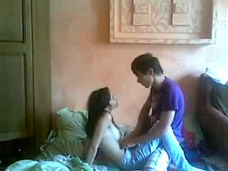 Молодожены в сексе
