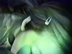 Азиатка страстно сосёт член в домашнем видео от первого лица и трахается в киску