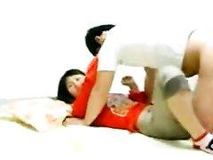 Утренний домашний секс азиата с китайской леди снимает скрытая камера
