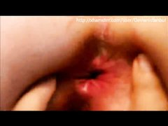 В видео от первого лица турчанка крупным планом показывает красные дырки