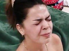 Идеальная проститутка для домашнего секса с жёсткой глубокой глоткой