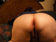 Муж в видео от первого лица устроил любительскую мастурбацию зрелой толстухе