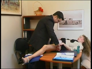 русская секретарша соблазнила начальника