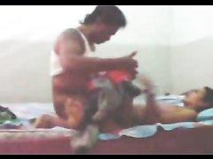 Азиатка с маленькими сиськами в любительском видео трахается перед скрытой камерой