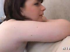Любительский анальный порно кастинг с широкобёдрой француженкой удался