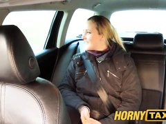 Домашний анальный секс с минетом от первого лица с похотливой пассажиркой такси