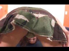 Негр в межрассовом видео от первого лица поимел латинскую любовницу в киску