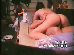 Любительский хардкор подглядывает через скрытую камеру муж развратной дамы