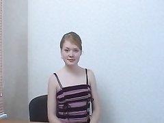 Рыжая студентка от первого лица сделав домашний минет трахается в анал