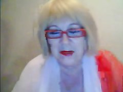 Домашняя мастурбация по вебкамере от зрелой русской блондинки с толстой фигурой