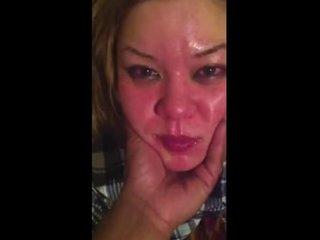 Любительский анальный хардкор от первого лица негра с белой проституткой
