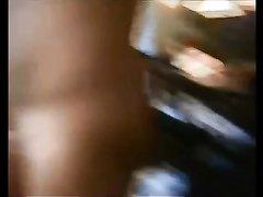 Зрелая грудастая развратница в чулках трахается с любовником на карачках