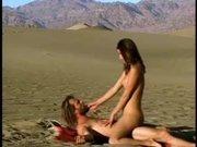 Жёсткий любительский секс похотливой парочки в степи под открытым небом