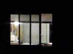 Скрытая камера для домашнего подглядывания за фигуристой леди из соседнего дома