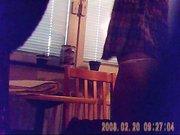 Любительское подглядывание за молодой девушкой в откровенном нижнем белье