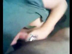 Итальянка с большими сиськами от первого лица чеканит домашний минет другу