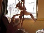 Муж радует возбуждённую жену домашней мастурбацией перед скрытой камерой