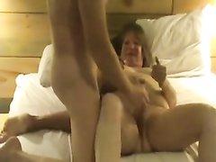 Совместная мастурбация мужа и жены