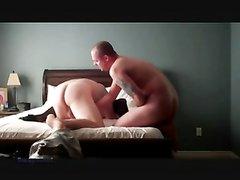 Супружеская измена зрелой развратницы с большой попой трахающейся перед мужем