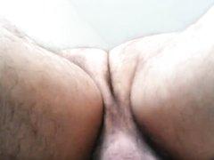 Зрелая и толстая брюнетка сделав любительский минет трахается от первого лица