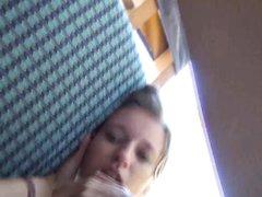 Фигуристая молодая немка на отдыхе трахается с любовником в гостинице