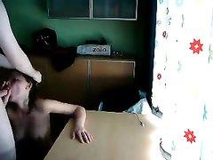Любительский хардкор с русской развратницей перед скрытой камерой