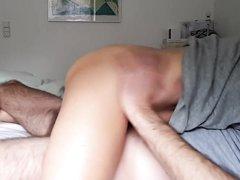 Зрелая блондинка занялась домашним сексом перед скрытой камерой