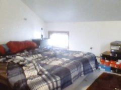 Скрытая камера снимает любительский хардкор со зрелой брюнеткой